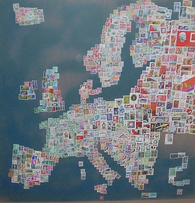 Jugoslawien Karte 2018.Europa Briefmarken Karte